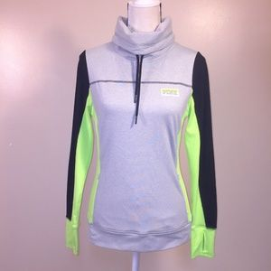 Pink Victoria Secret Ultimate Athletic Pullover S